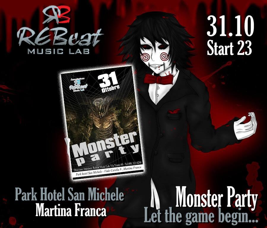 Halloween Martina Franca, Park Hotel San Michele